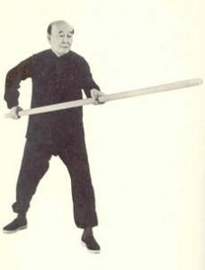 A Tai Chi Staff