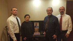 Master Wei Xilan with Sifu's Michael Paler, Ray Abeyta and Wolf Carter