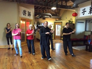 Teacher Training at the Tai Chi Association