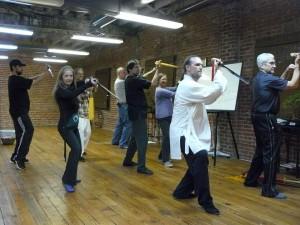 Tai Chi Sword Workshop