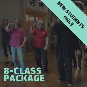 beginner tai chi classes - 8 sessions