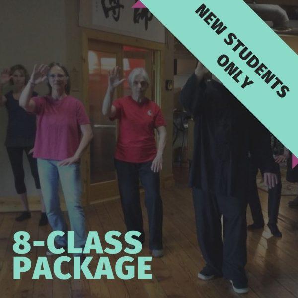 beginner tai chi classes - 8 sessions